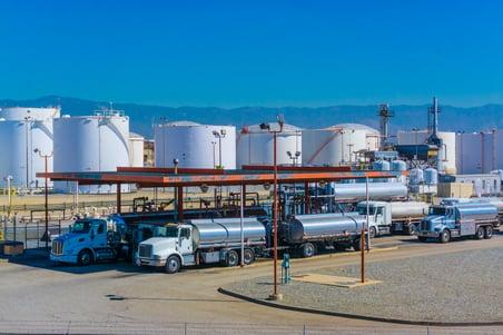 tanker truck capacity